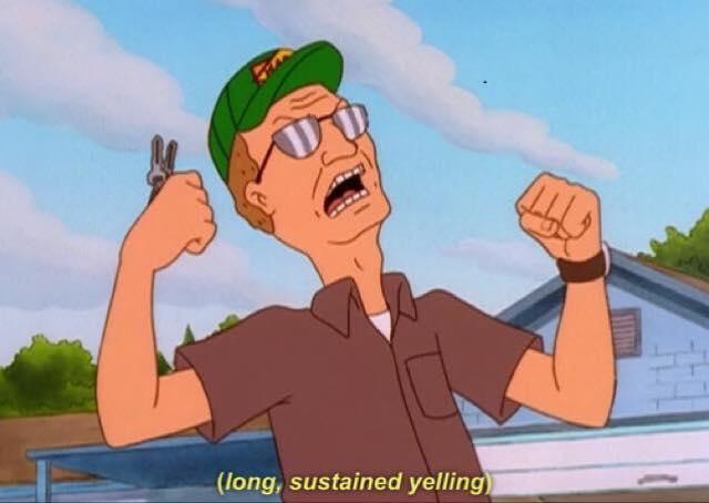 Dale Gribble Damn You